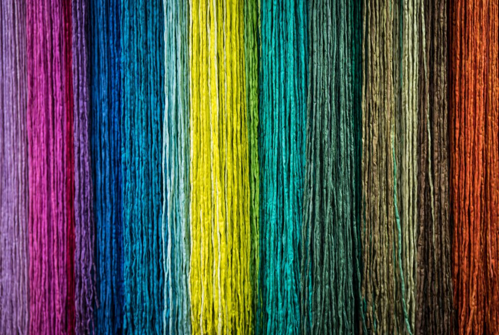 Kleuren op een rij
